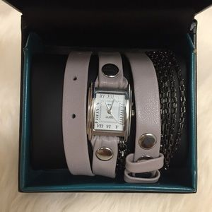 La Mer Collection Chain Wrap Watch